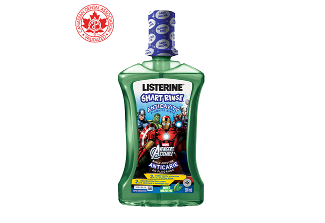 LISTERINE SMART RINSE® FOR KIDS MINT